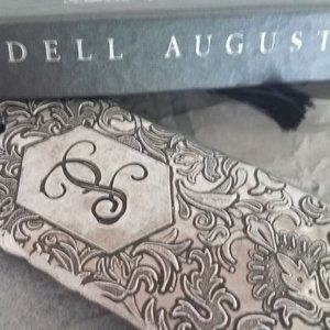 """Wendell August Hand Hammered Initial """"P"""" Bookmark"""